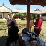 מציירים בחוץ